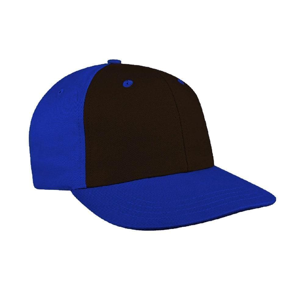 Black-Royal Blue Canvas Leather Prostyle