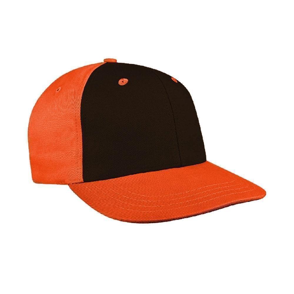 Black-Orange Canvas Leather Prostyle