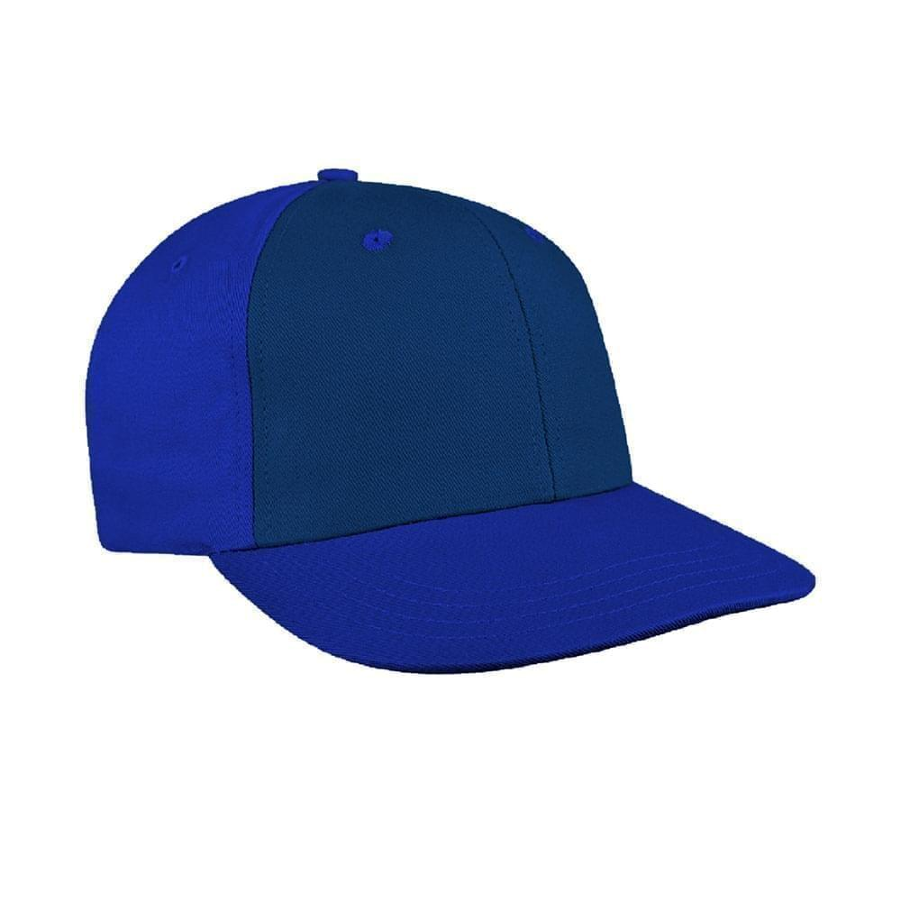 Navy-Royal Blue Canvas Snapback Prostyle
