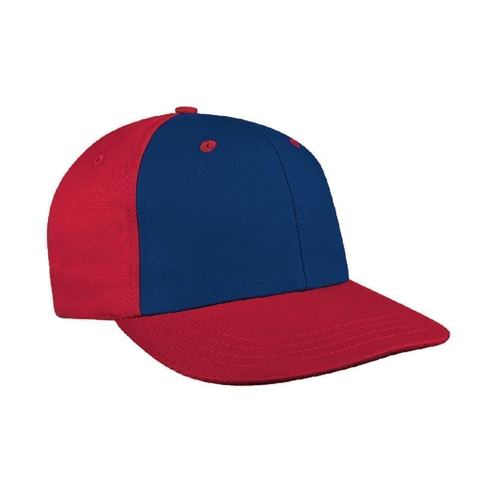 Navy-Red Canvas Velcro Prostyle
