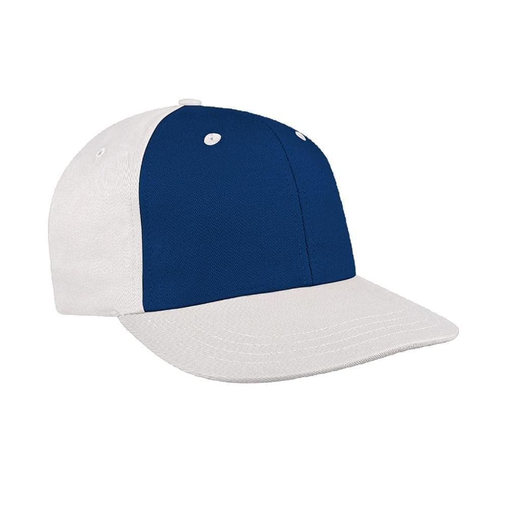Navy-White Canvas Leather Prostyle