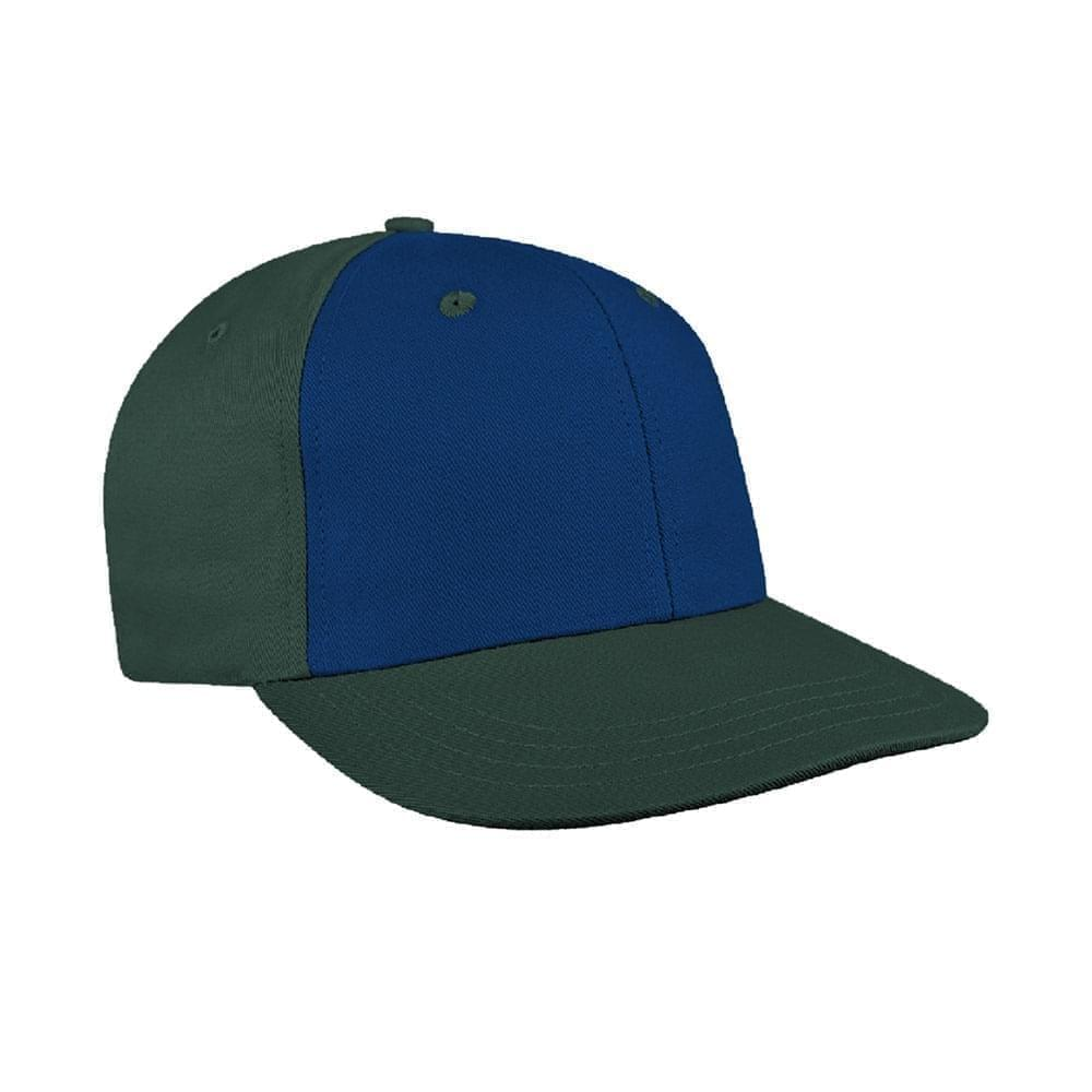 Navy-Hunter Green Canvas Leather Prostyle