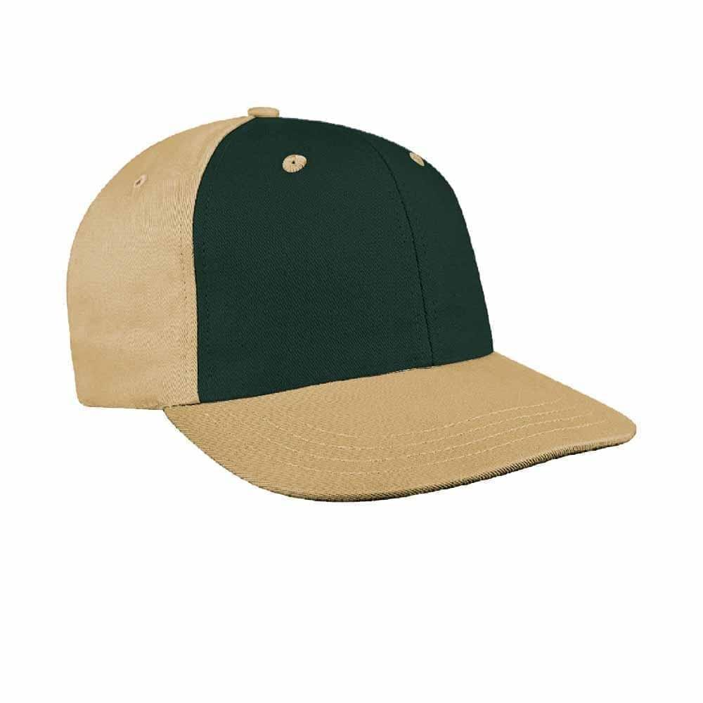 Hunter Green-Khaki Canvas Velcro Prostyle