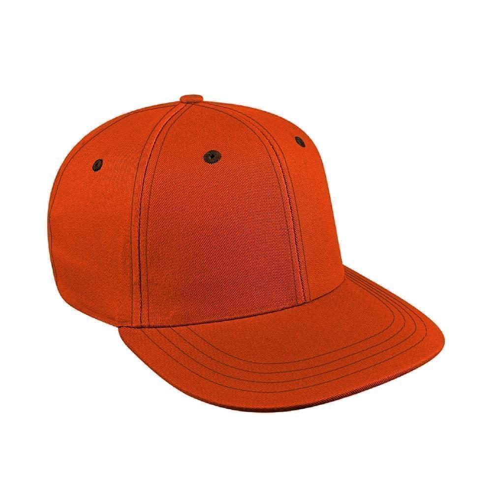 Orange-Black Canvas Velcro Prostyle