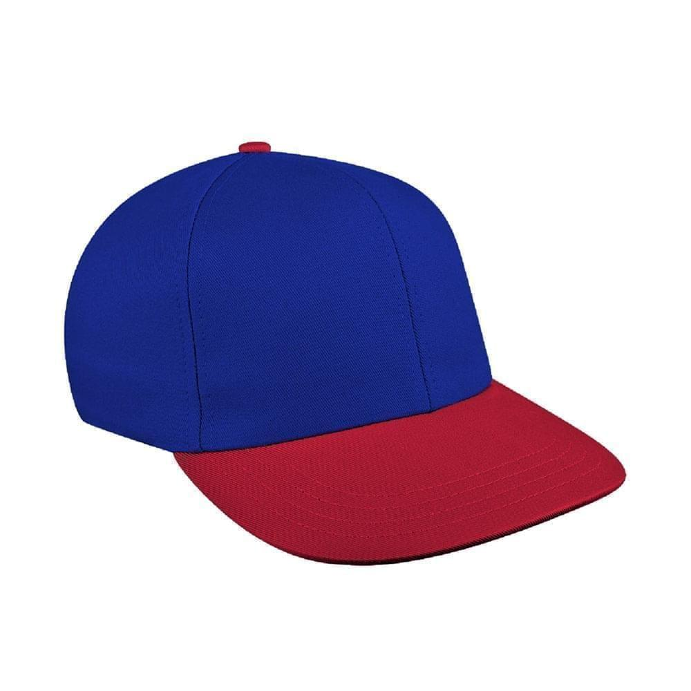 Royal Blue-Red Canvas Velcro Prostyle