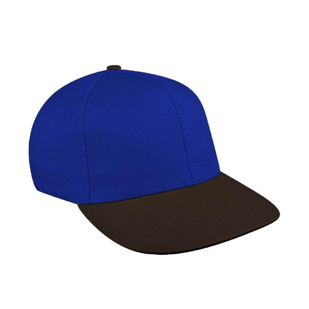 Royal Blue-Black Canvas Velcro Prostyle