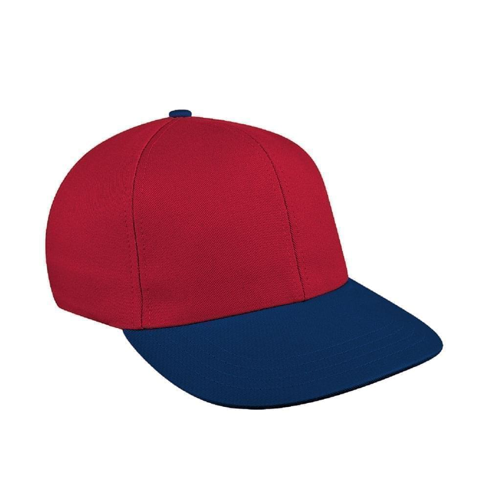 Red-Navy Canvas Velcro Prostyle