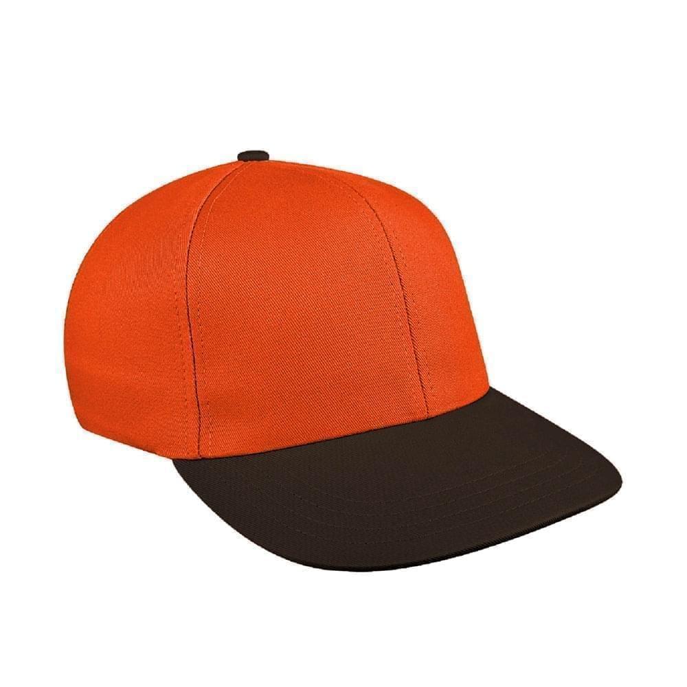 Orange-Black Canvas Leather Prostyle
