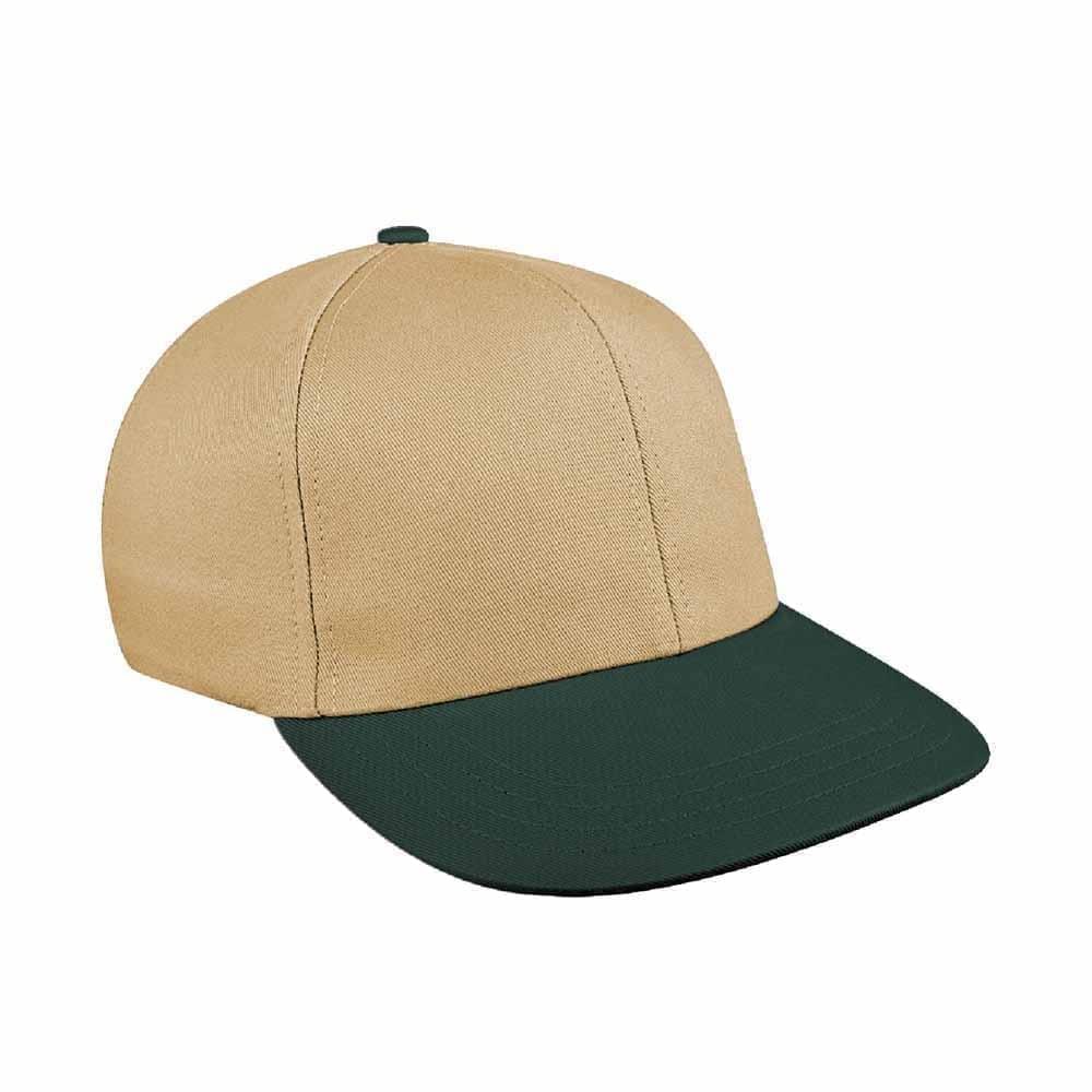 Khaki-Hunter Green Canvas Leather Prostyle