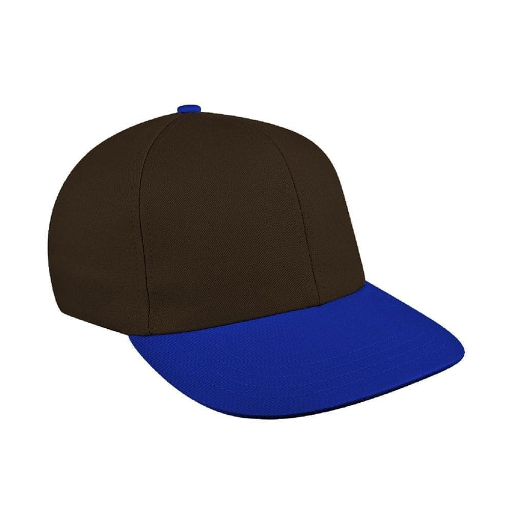 Black-Royal Blue Canvas Self Strap Prostyle