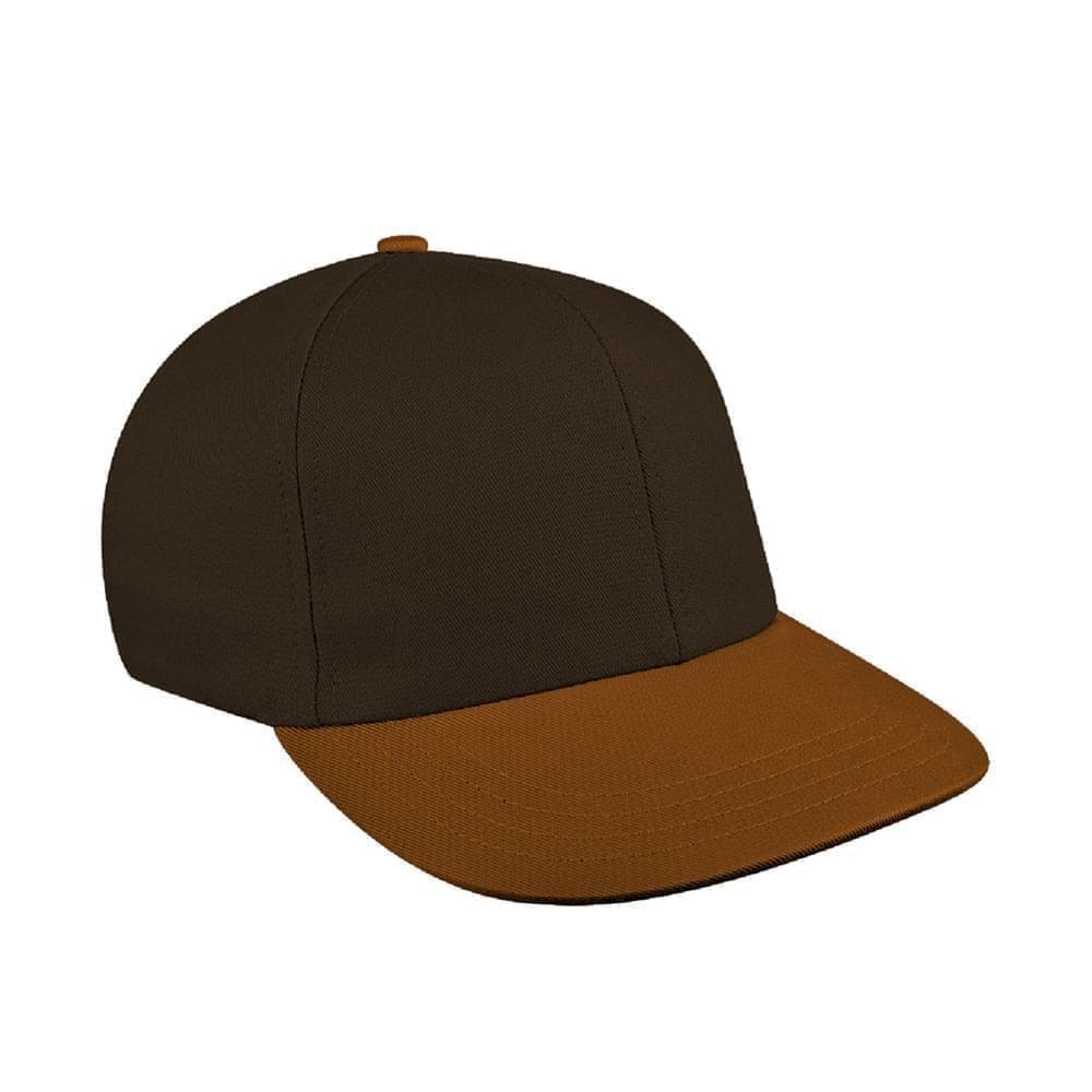 Black-Light Brown Canvas Snapback Prostyle