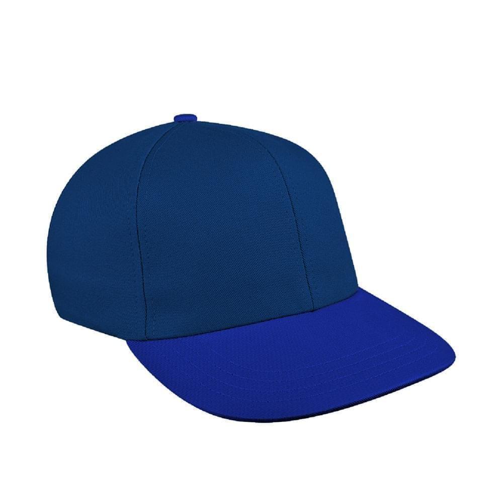 Navy-Royal Blue Canvas Leather Prostyle