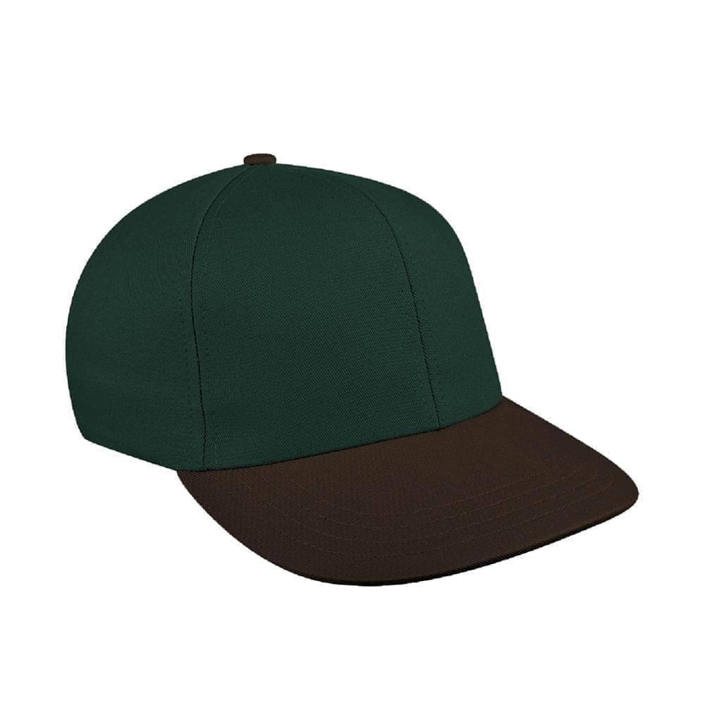 Hunter Green-Black Canvas Snapback Prostyle