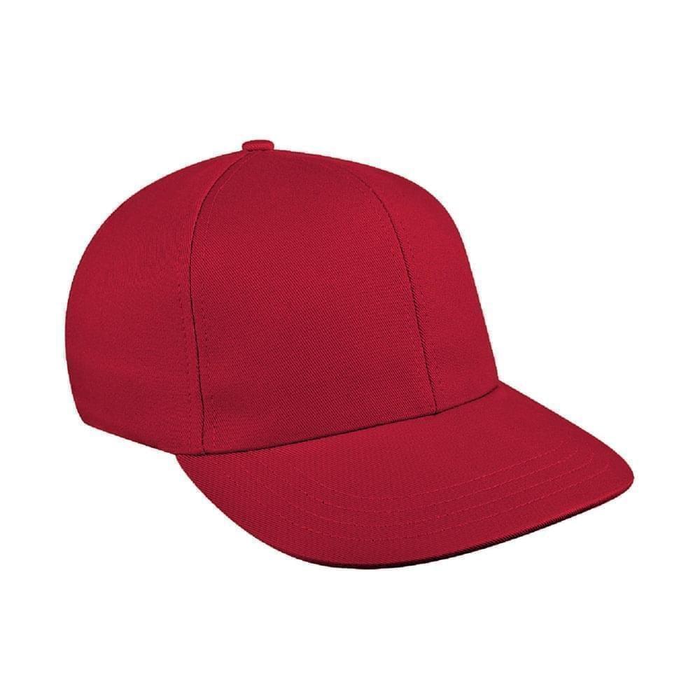 Red Canvas Snapback Prostyle