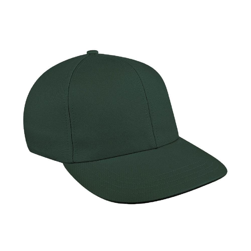 Solid Color Wool Snapback Prostyle