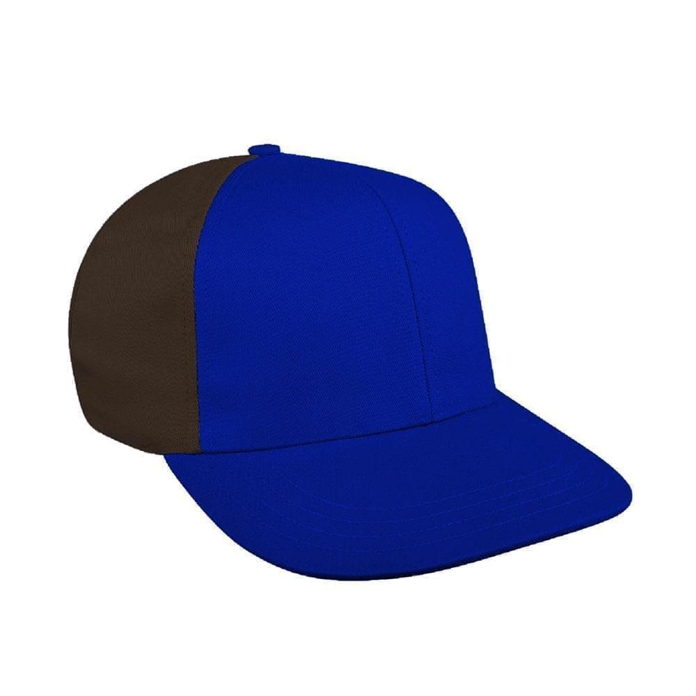 Royal Blue-Black Canvas Leather Prostyle