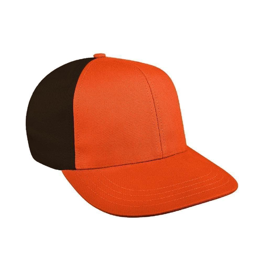 Orange-Black Canvas Snapback Prostyle