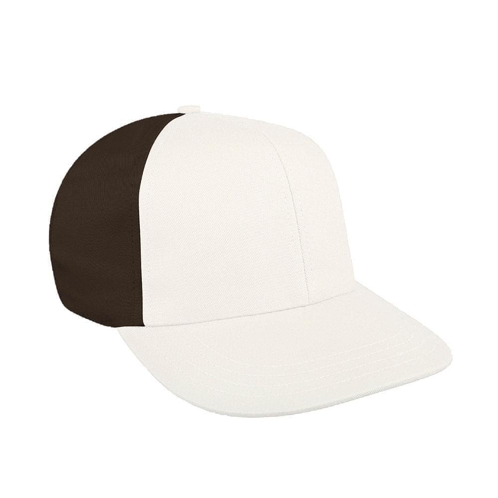 White-Black Canvas Leather Prostyle