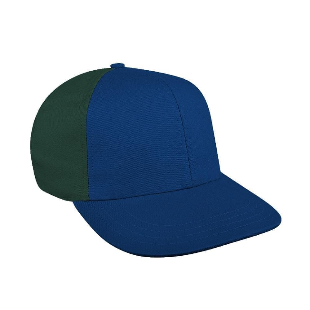 Navy-Hunter Green Canvas Snapback Prostyle