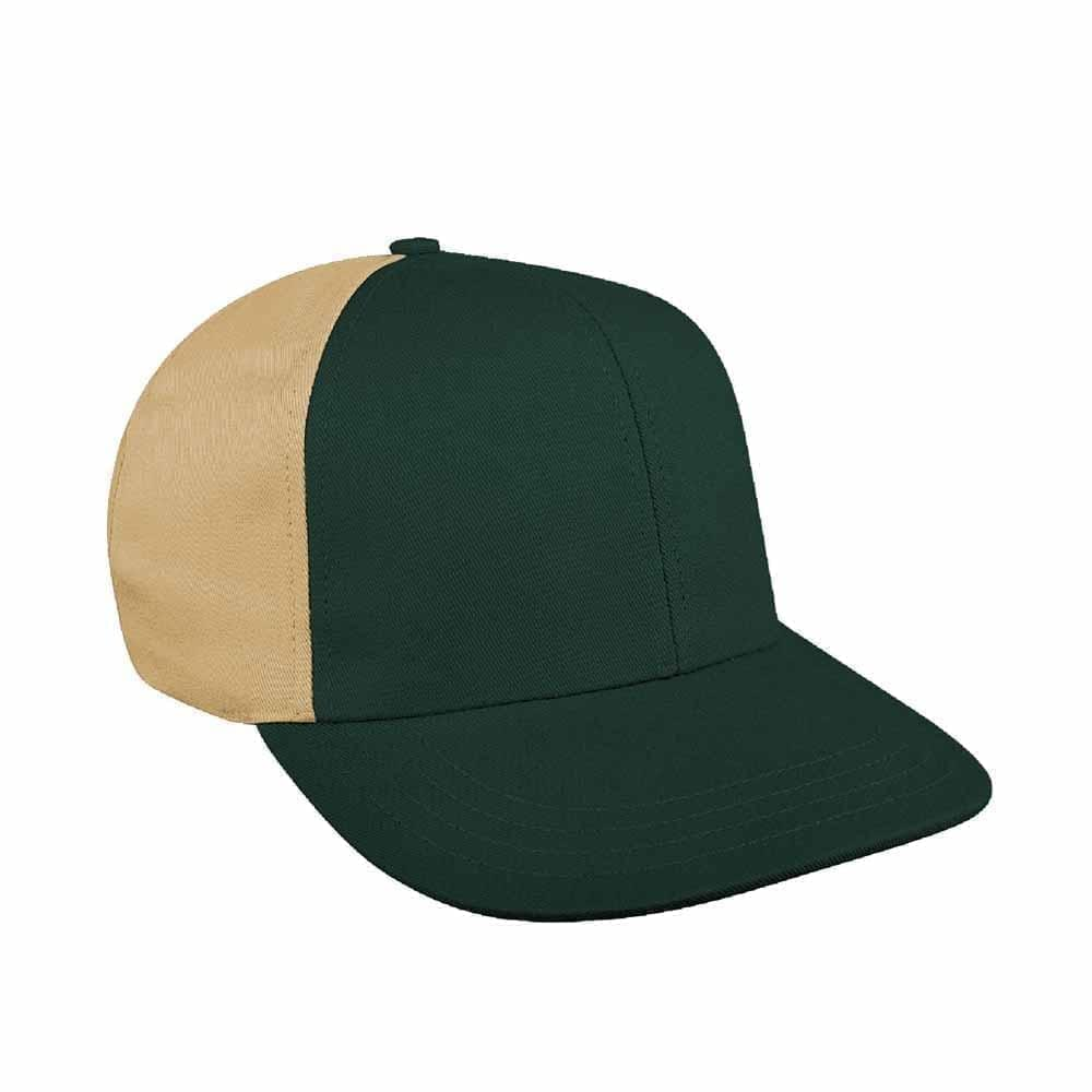 Hunter Green-Khaki Canvas Leather Prostyle