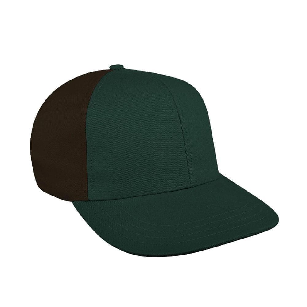 Hunter Green-Black Canvas Leather Prostyle