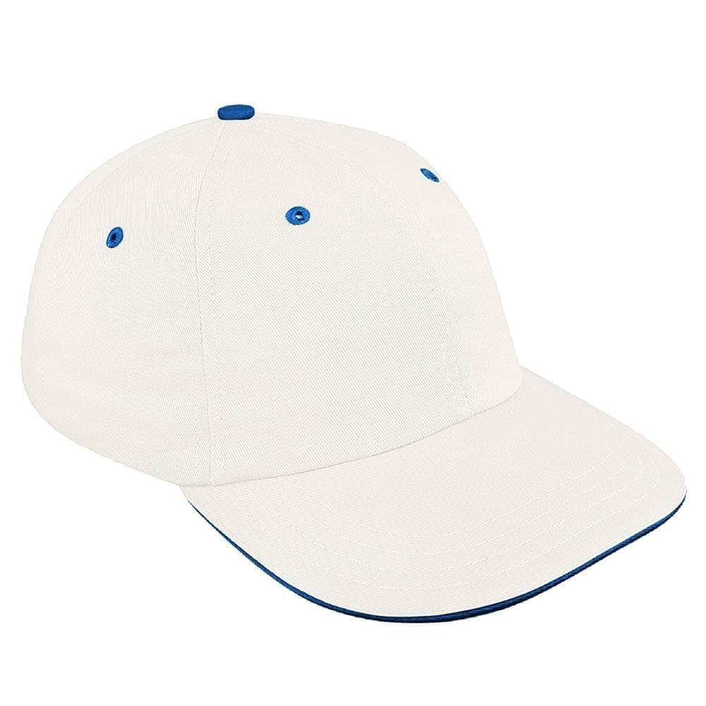 Sandwich Visor Twill Stretchfit Dad Cap