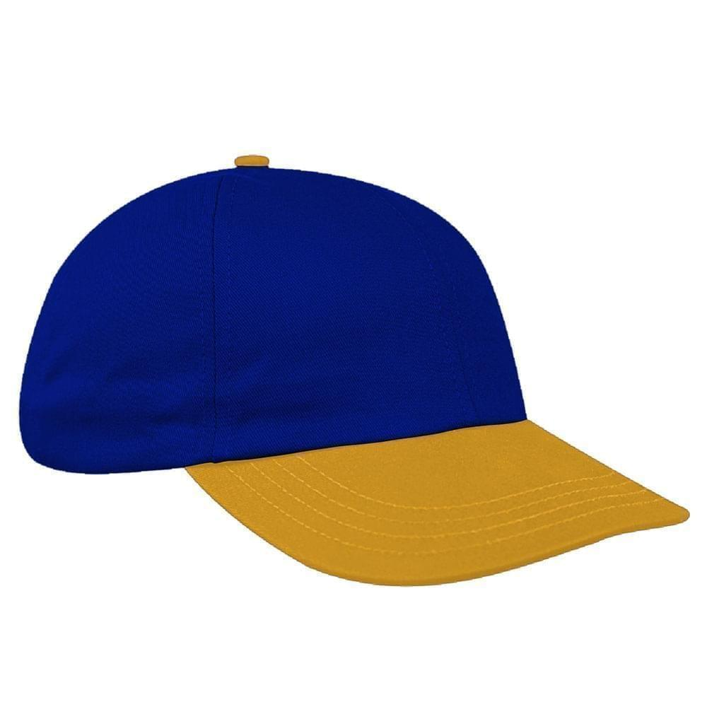 Two Tone Brushed Snapback Dad Cap