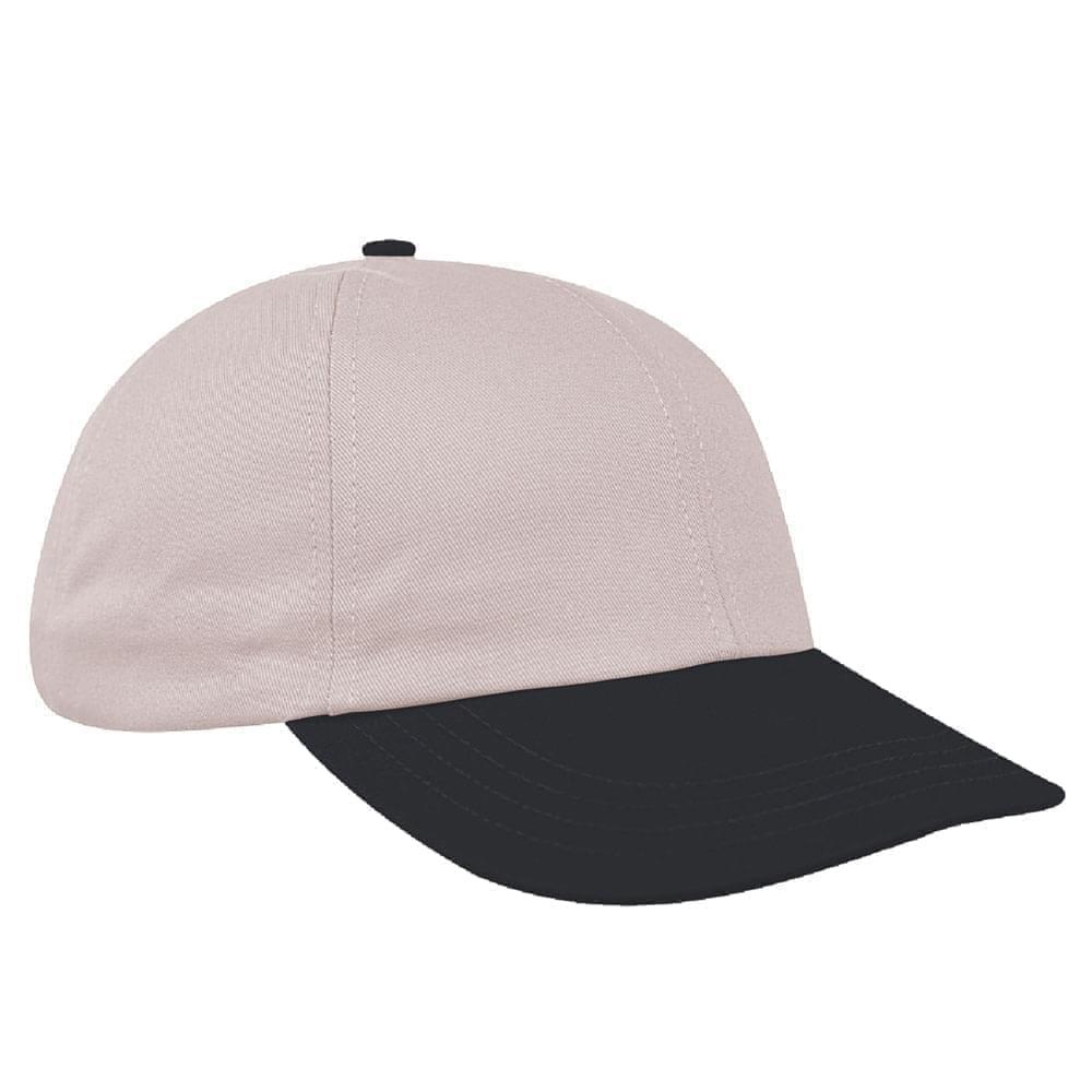 Putty-Dark Gray Denim Velcro Dad Cap
