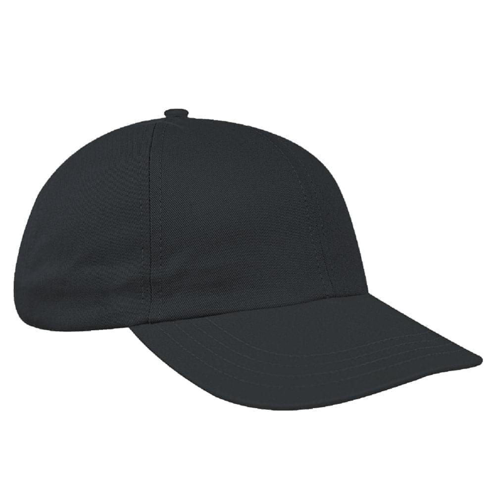 Dark Gray Denim Velcro Dad Cap
