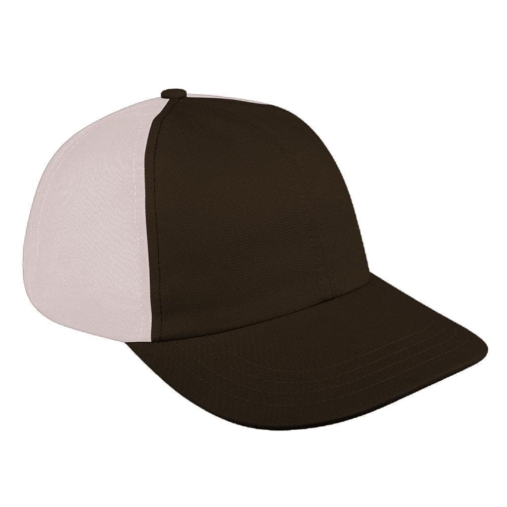 Black-Putty Denim Velcro Dad Cap