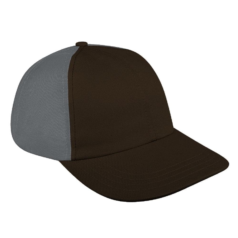 Black-Light Gray Denim Velcro Dad Cap