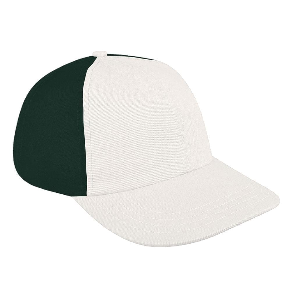Contrast Back Canvas Self Strap Dad Cap