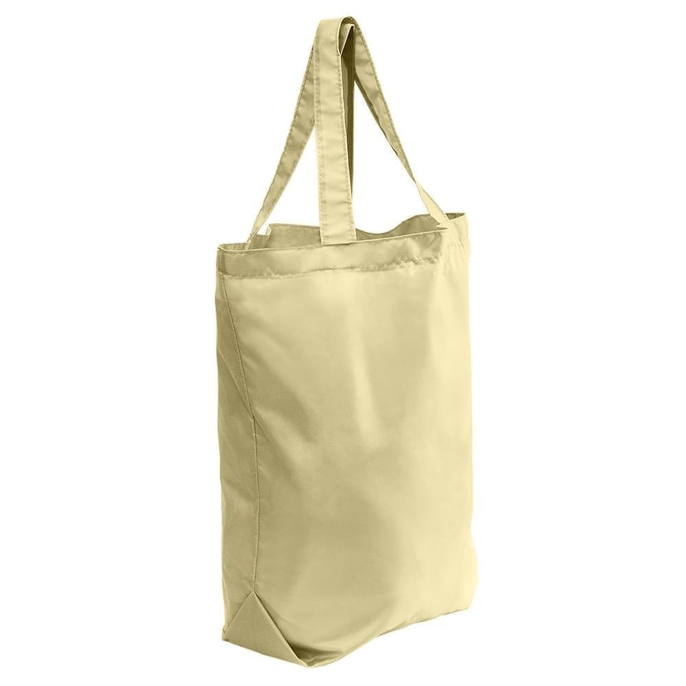 USA Made Duck Canvas Self Handle Totes, Natural-Natural, 7001682-AKA