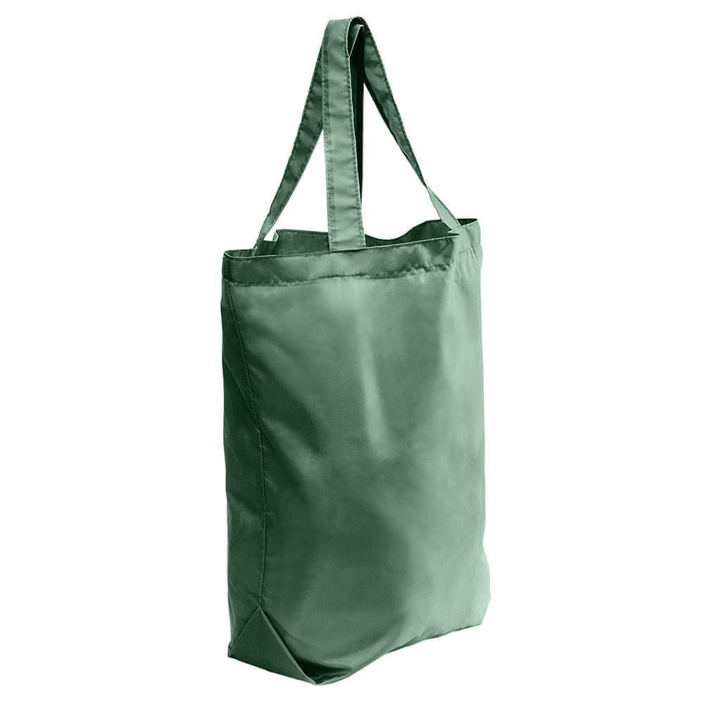 USA Made 200 D Nylon Self Handle Totes, Hunter-Hunter, 7001682-TSV