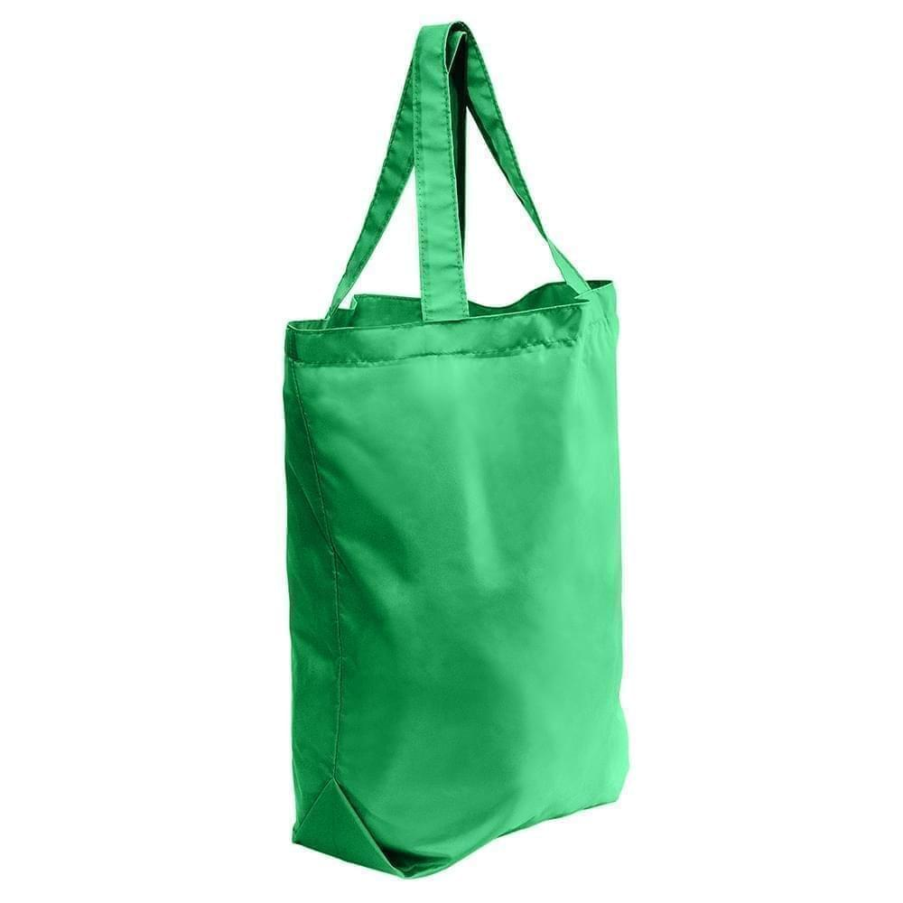 USA Made 200 D Nylon Self Handle Totes, Kelly-Kelly, 7001682-TTH