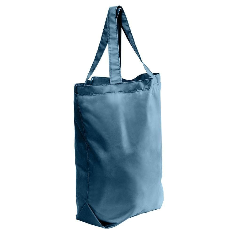 USA Made 200 D Nylon Self Handle Totes, Navy-Navy, 7001682-TWI