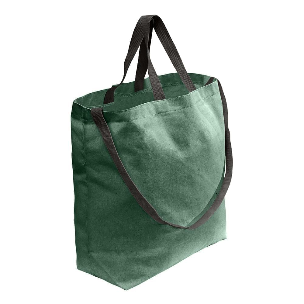 USA Made Duck Canvas Shoulder Carry Totes, Hunter-Black, 7001794-AIR