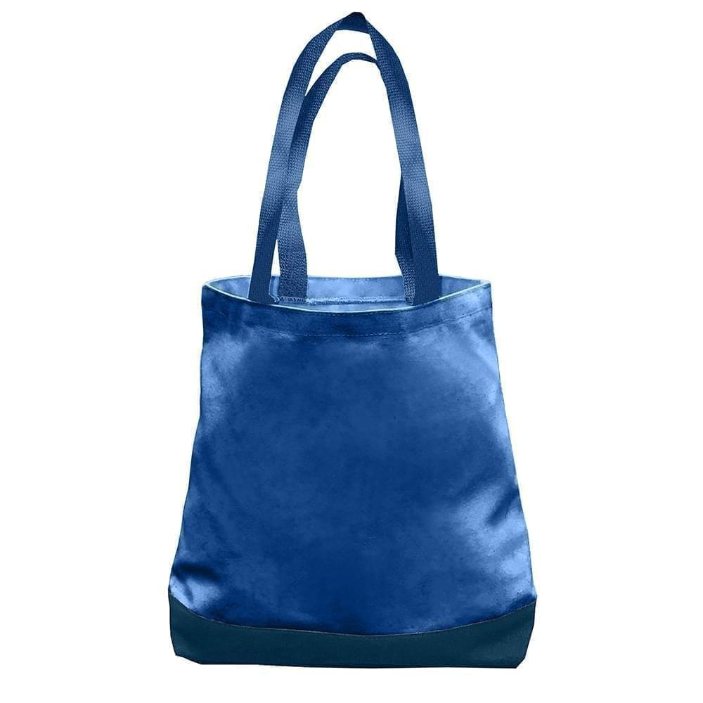 USA Made Nylon Poly Promo Boat Totes, Royal-Navy, 7011000-A0Z