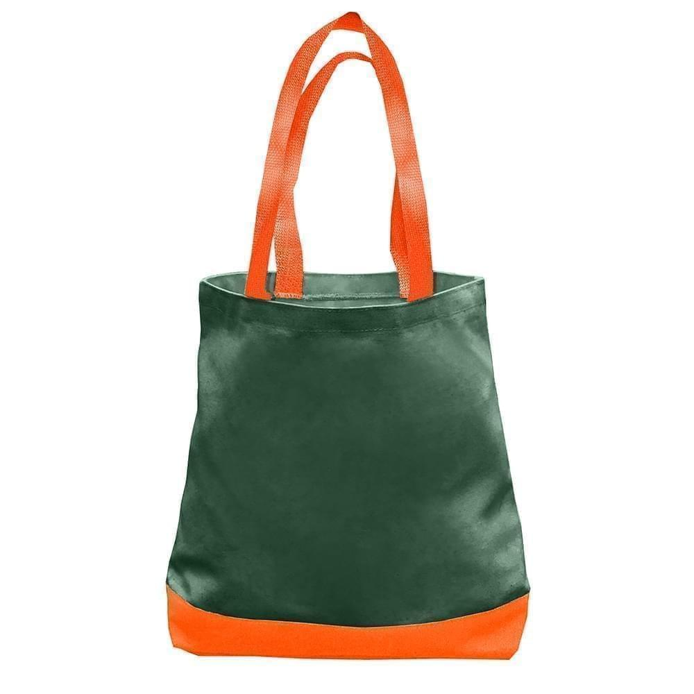 USA Made Duck Canvas Promo Boat Totes, Hunter-Orange, 7011000-AI0