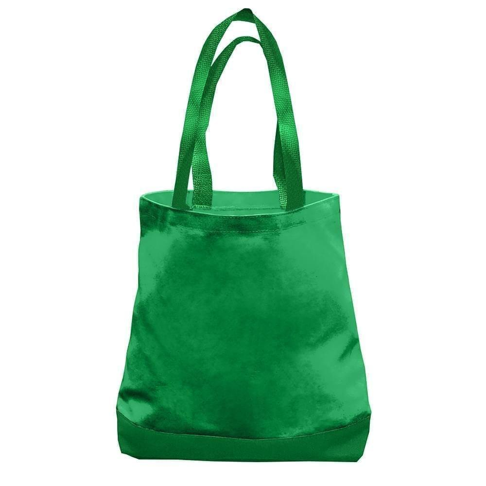 USA Made Nylon Poly Promo Boat Totes, Kelly-Kelly, 7011000-ATW