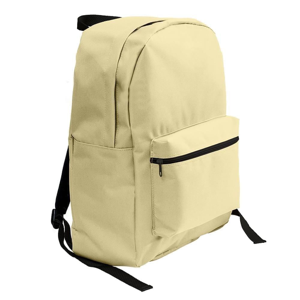 USA Made Duck Canvas Standard Backpacks, Natural-Natural, 8000-AKA