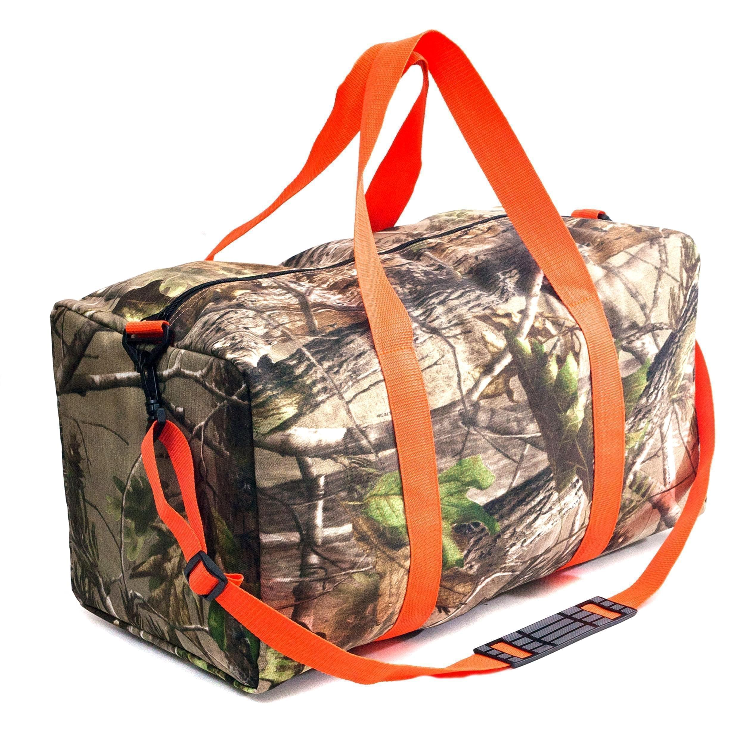 USA Made Duck Canvas Camo Duffels, 8001124