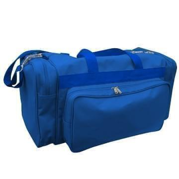 USA Made Poly Vacation Carryon Duffel Bags, Royal Blue-Royal Blue, 8006729-A03