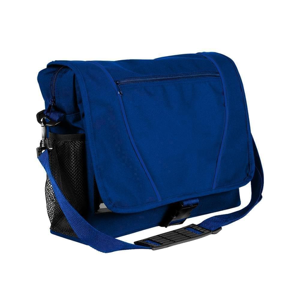 USA Made Nylon Poly Shoulder Bike Bags, Royal Blue-Royal Blue, 9001197-A03