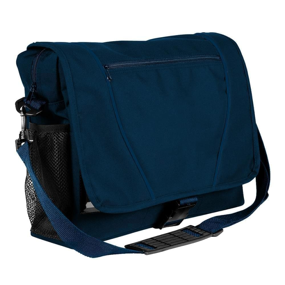USA Made Nylon Poly Shoulder Bike Bags, Navy-Navy, 9001197-AWZ
