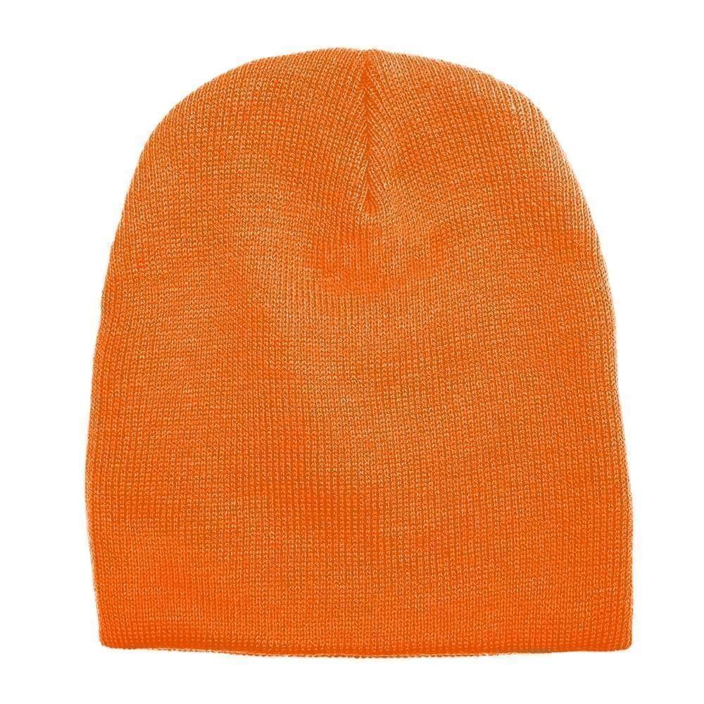 USA Made Knit Beanie Orange,  99B17685-BOR