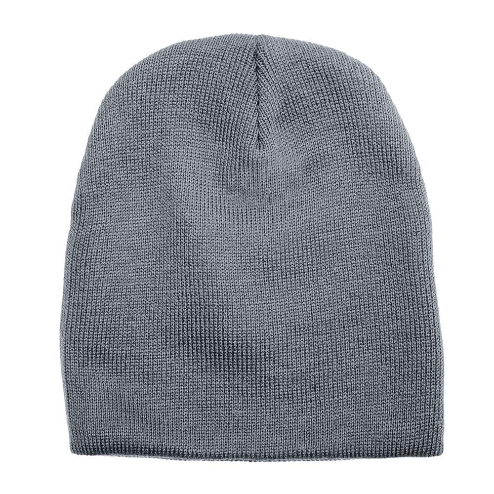 USA Made Knit Beanie Grey,  99B17685-GRY