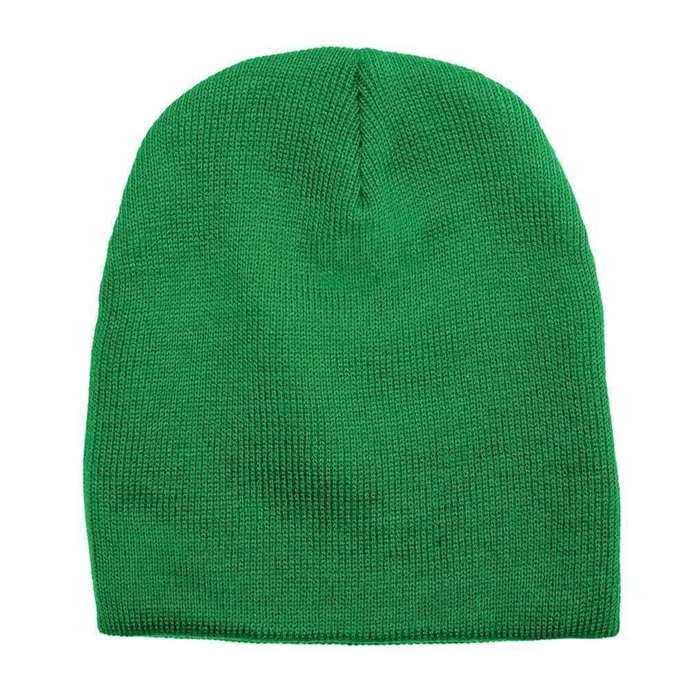 USA Made Knit Beanie Kelly Green,  99B17685-KGR
