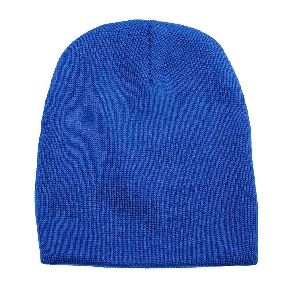 USA Made Knit Beanie Royal,  99B17685-ROY