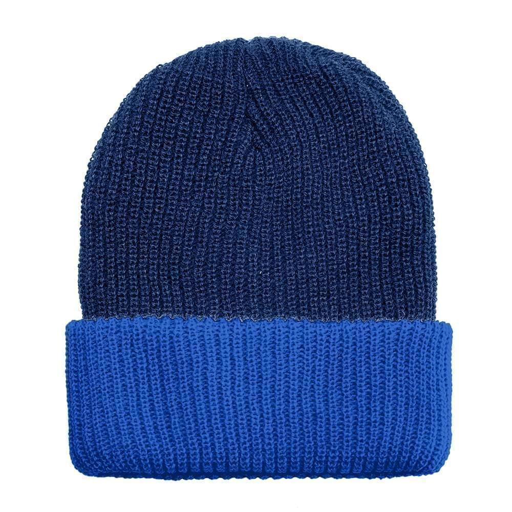 USA Made Knit Cuff Hat Navy Royal,  99C244-NVY-ROY